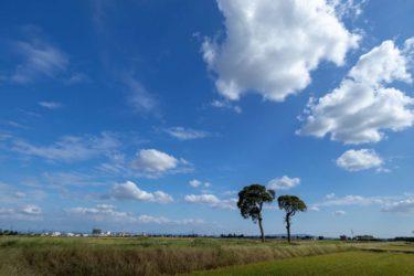 澄み渡った青空が広がっている光景を想像する爽快なポップ系音楽素材「青空の下で」