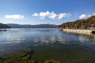 静かな冬の湖を想像するピアノとエレピのが奏でる穏やかな音楽素材「静かな湖畔」